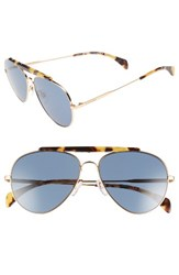 Tommy Hilfiger Women's 58Mm Aviator Sunglasses Rose Gold