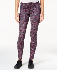 Material Girl Active Juniors' Space Dyed Leggings Only At Macy's Multi Spacedye