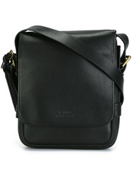 Polo Ralph Lauren Flap Messenger Bag Black