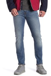 7 For All Mankind Paxtyn Slim Straight Jeans Cascade