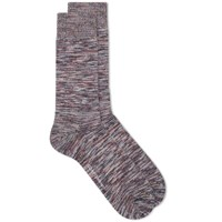 Oliver Spencer Dodd Marl Sock Pink