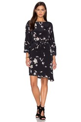Viktoria Woods Elevate Kimono Dress Black