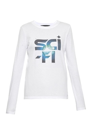 Marc By Marc Jacobs Sci Fi Cotton Jersey T Shirt