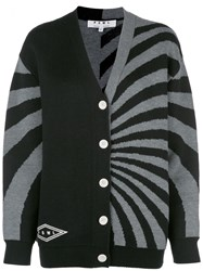 Proenza Schouler Pswl Two Toned V Neck Cardigan 60