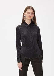 Rachel Comey 'S Thyme Shirt In Black Size 0 100 Polyester