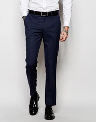 New Look Suit Trousers In Navy Navy