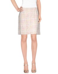 Edward Achour Skirts Knee Length Skirts Women Beige