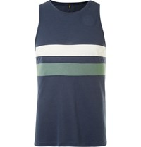 Iffley Road Lancaster Drirelease Pique Tank Top Navy