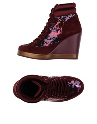 Fornarina High Tops And Trainers Deep Purple