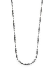 John Hardy Dot Sterling Silver Small Chain Necklace 36