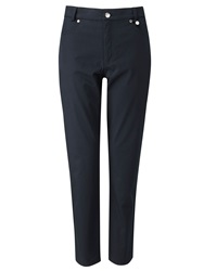 Golfino 7 8 Cotton Stretch Trousers Navy