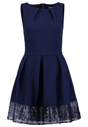 Closet Cocktail Dress Party Dress Navy Dark Blue