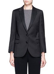 Neil Barrett Thunderbolt Jacquard Tuxedo Jacket Black