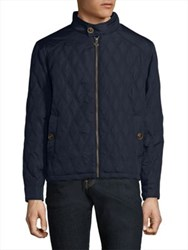 Rainforest Cabot Quilted Jacket Navy