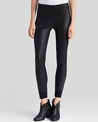 Rag And Bone Rag And Bone Jean Leggings The Danny Leather Black Leather