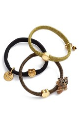 Marc Jacobs Owl Charm Ponytail Holders