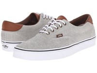 Vans Era 59 Oxford And Leather Black True White Skate Shoes Gray