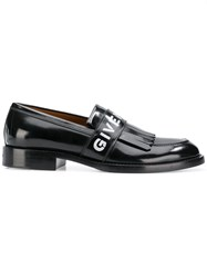 Givenchy Fringed Loafers Black