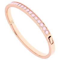 Ted Baker Clemara Swarovski Crystal Bangle Rose Gold Rose