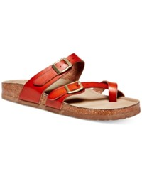 Madden Girl Madden Girl Bryce Footbed Sandals Women's Shoes Cognac