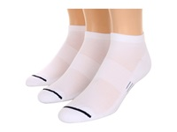 Wrightsock Spirit Lo 3 Pair Pack White Low Cut Socks Shoes
