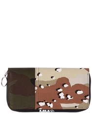 Maison Martin Margiela Camouflage Zip Around Wallet