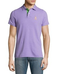 Psycho Bunny Classic Polo Shirt Purple