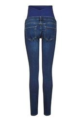 Topshop Maternity Over The Bump Vintage Leigh Jeans Dark Stone