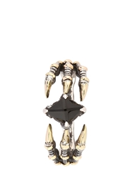 Kd2024 D Claw Ring Silver Gold