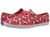 Keds Champion Minnie Red Canvas Women's Lace Up Casual Shoes