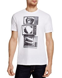 Kid Dangerous Tv Trio Tee White