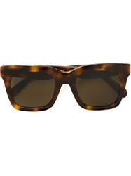 Ca Line Oversized Sunglasses Brown