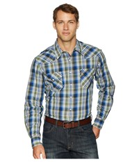 Cinch Long Sleeve Plaid Modern Fit Multicolored Clothing