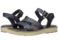 Timberland Bailey Park Asymmetric Y Strap Navy Full Grain Women's Sandals Blue