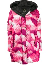 Mr And Mrs Italy Hooded Padded Coat Pink