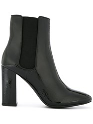 Senso Xio Heeled Ankle Boots Black