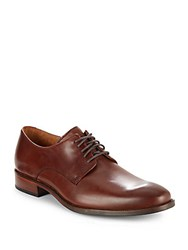 Cole Haan Leather Lace Up Dress Shoes Papaya