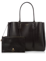 Lanvin Nela Leather Shopper Black