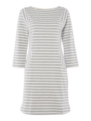 Joules Pocket Breton Dress Grey