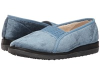 Foamtreads Quartz Blue Women's Slippers