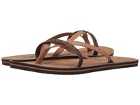 Rip Curl Coco Chocolate Tan Women's Sandals Brown