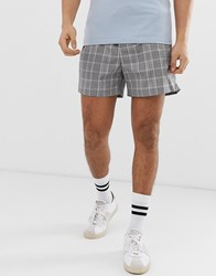 New Look Shorts In Grey Check