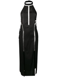 Parah Isabelle Long Night Dress Black