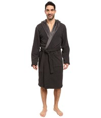 Ugg Brunswick Robe Black Bear Heather Men's Robe Gray