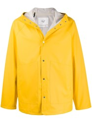 Herschel Supply Co. Hooded Rain Jacket Yellow