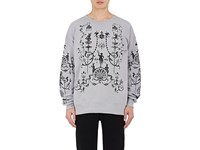 Vivienne Westwood Men's Abstract Print Cotton Sweatshirt No Color