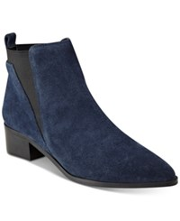 Marc Fisher Ignite Ankle Booties Women's Shoes Pilota Suede