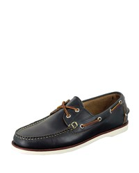 Eastland Made In Maine Freeport Boat Shoe Navy