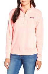 Vineyard Vines Garment Dyed Classic Shep Pullover Coral Sand