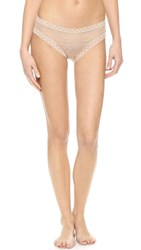 Natori Bliss Lace Girl Briefs Cafe